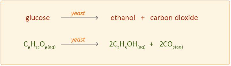 Hemijska reakcija fermentacije