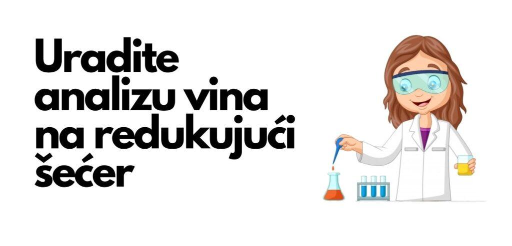 analiza vina na redukujući šećer